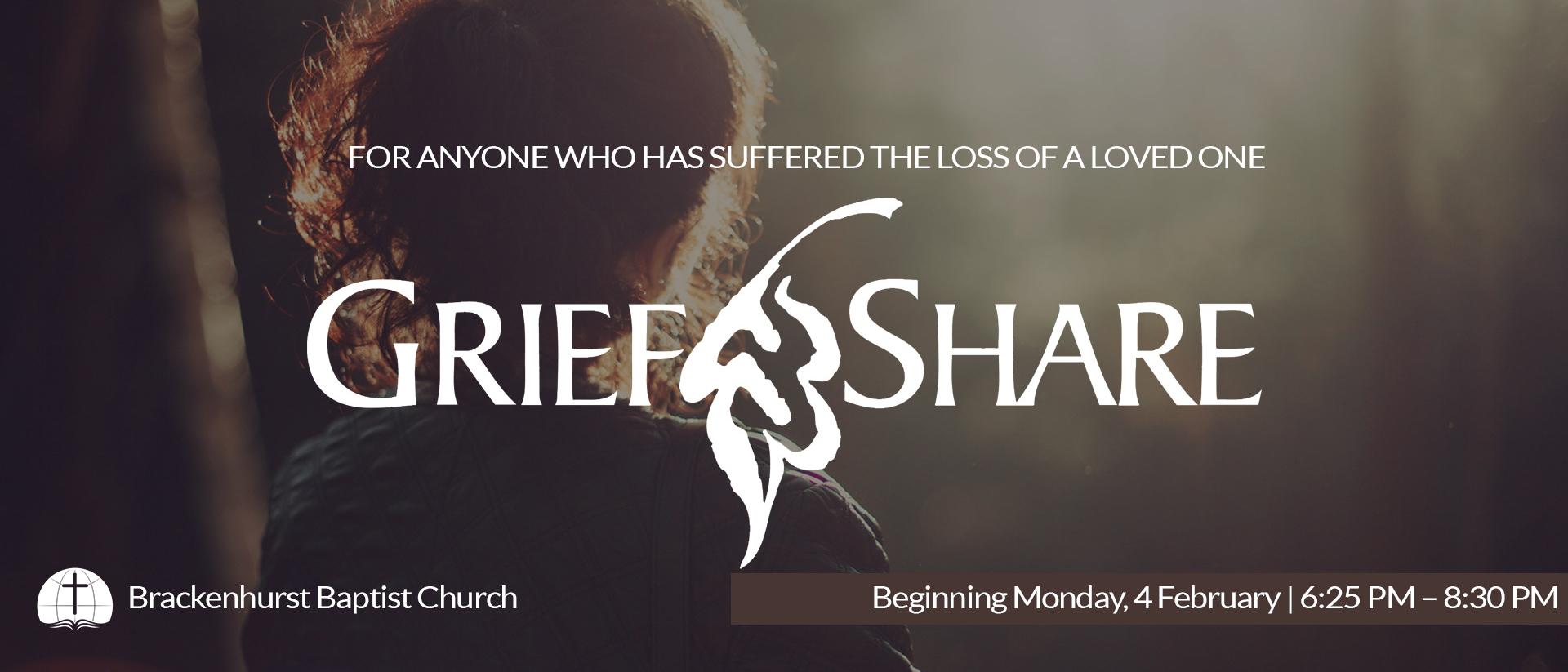 GriefShare 2019