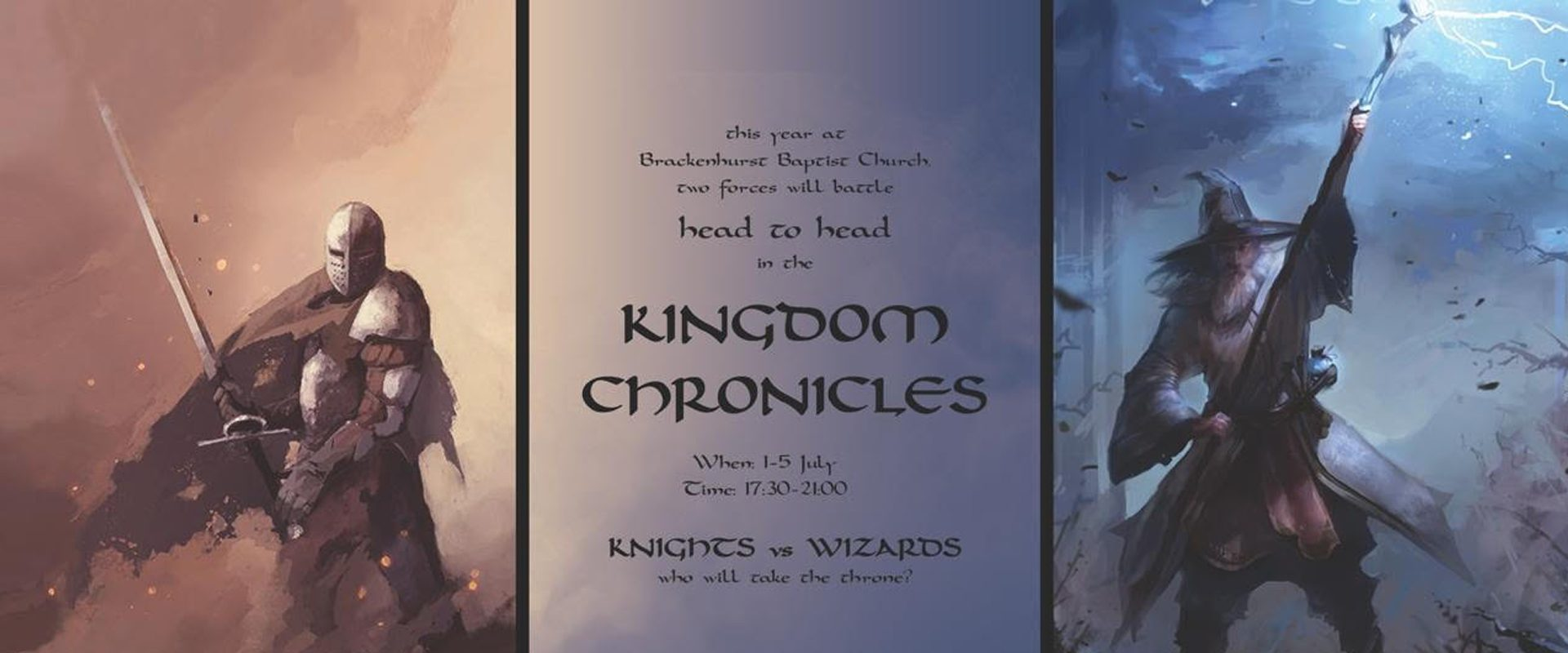 Teens for Christ 2019: Kingdom Chronicles