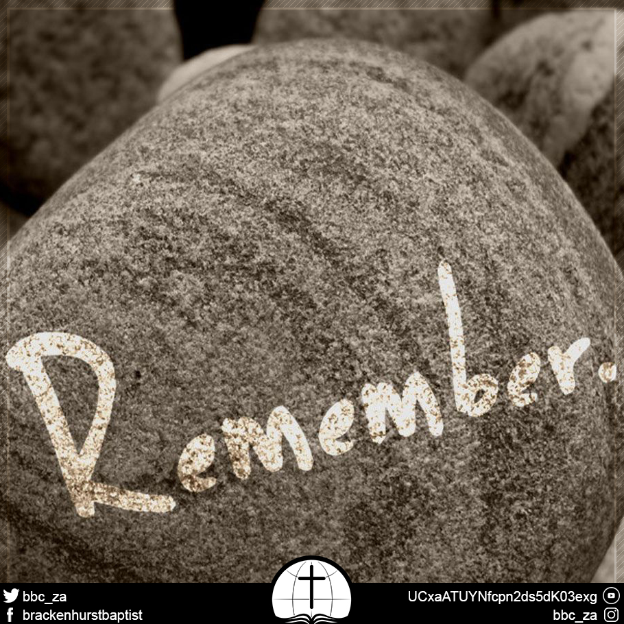 A Life of Remembrance (Exodus 11:1–13:16)