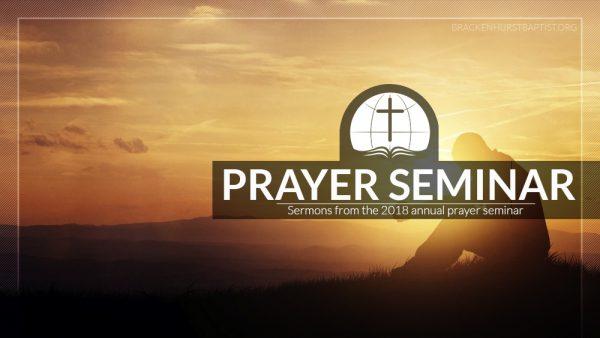 Prayer Seminar 2018