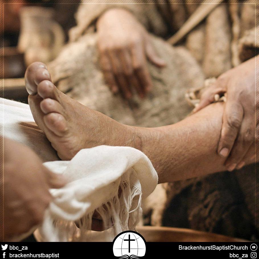 Desiring Clean Feet (John 13:14)