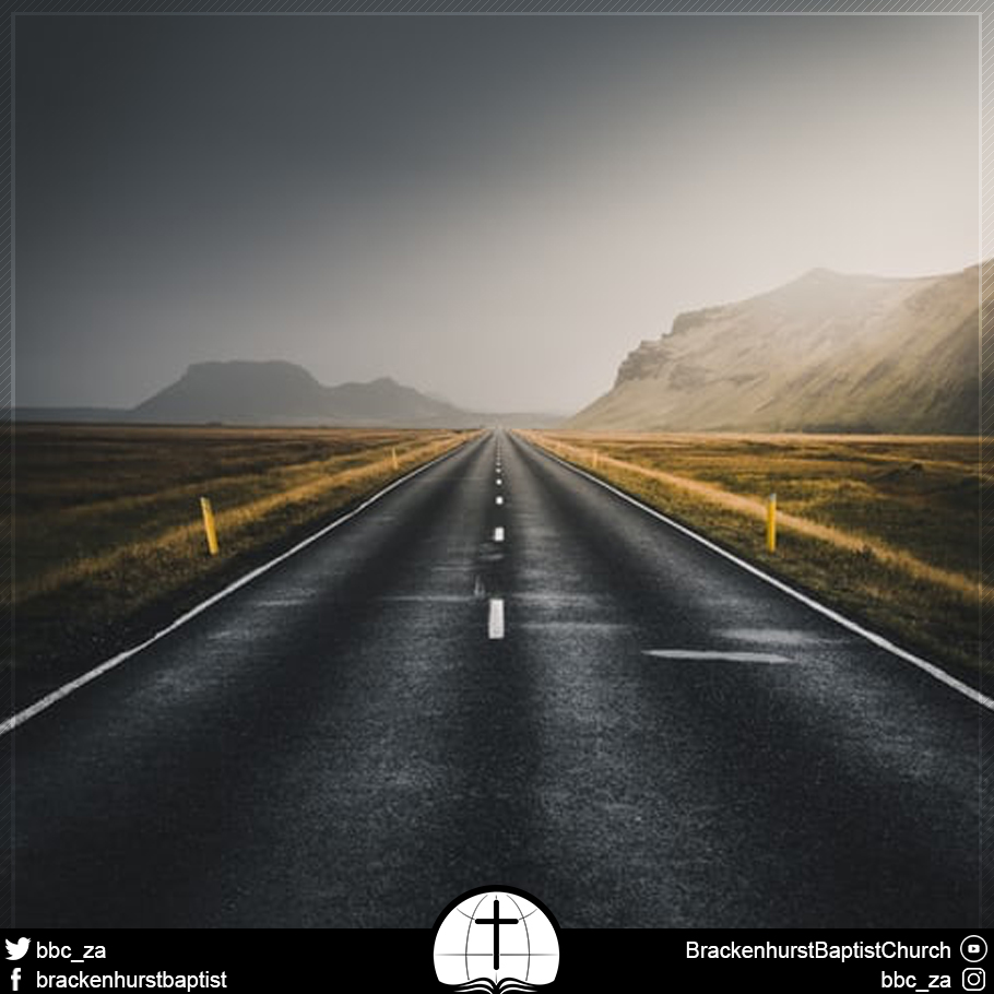 On the Road with Jesus (Mark 10:28–34)