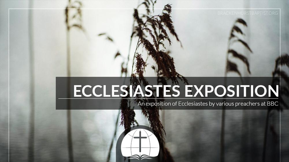 Ecclesiastes Exposition