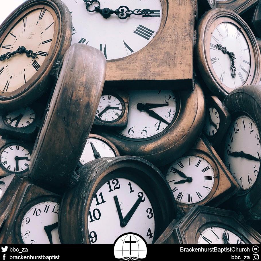 Bound in Time (Ecclesiastes 3:1–8)