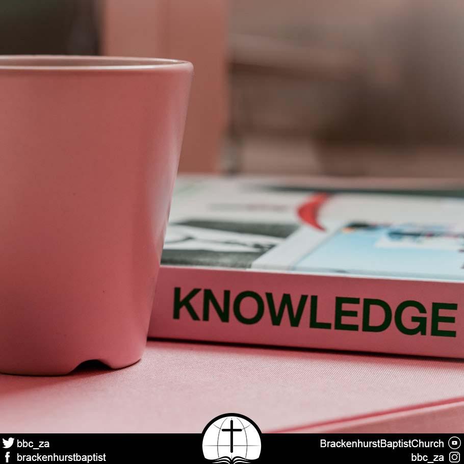 The Knowledge of Jesus Christ